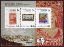 NEW ZEALAND 2005 NATIONAL STAMP SHOW, AUKLAND MINIATURE SHEET UNMOUNTED MINT
