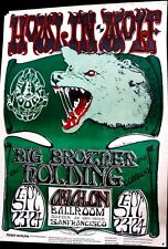 HOWLIN' WOLF + BIG BROTHER - 1966 AVALON FD 27 - BY MOUSE & KELLY -ORIGINAL RARE