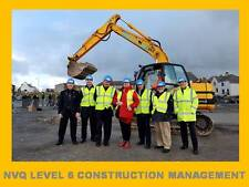 NVQ QCF Level 6 Diploma Construction Site Management Building Civil Engineering