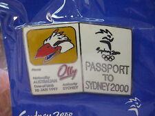 Sydney 2000 Olympic Mascot Passport Pin, Olly