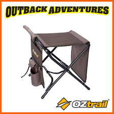 OZTRAIL RV TRAVEL MATE STOOL FLIP TOP TABLE FOOT REST CARAVAN CAMPING FISHING