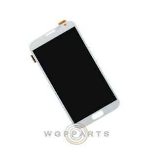 LCD Digitizer Assembly Stylus Pen Flex Cable for Samsung Galaxy Note II White