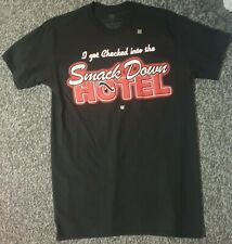 Authentic WWE The Rock 'SmackDown Hotel' Shirt - Never Worn - Men's Small