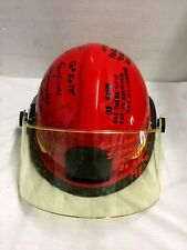 Bullard Fire Helmet  Navy USS CARNEY DDG 64 Fire Control Presentation Helmet