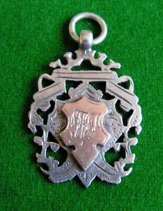 Silver Hallmark Fob 1901-02 Sunbury Rangers Kingston & District League Football