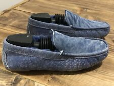 New With Box Men's Size 7.5 UGG Henrick Twinface Slipper Style  #1092549 Blue