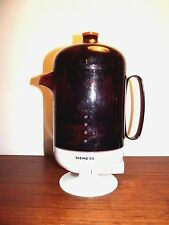 coffee machine Very Rare original vintage German  by Siemens Germany 1960's