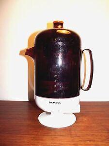 coffee machine Very Rare original vintage German  by Siemens Germany 1960's