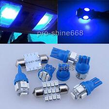 INTERIOR CEILING LED Car Light Bulbs KIT Package BLUE For MAZDA 6 2007 - 2012