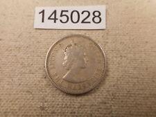 1959 British Caribbean Territories 25 Cents - Collectible Album Coin - # 145028