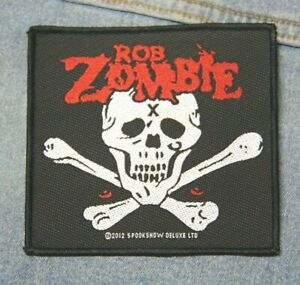 Rob Zombie sew on patch retro Official merchandise rock grunge
