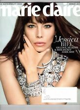 MARIE CLAIRE MAGAZINE AUGUST 2017 JESSICA BIEL NEW&UNREAD -DAY U PAY IT SHIPS