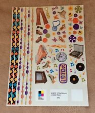 NEW Creative Memories 1970's Sticker Sheet ~ Scrapbooks & Crafts
