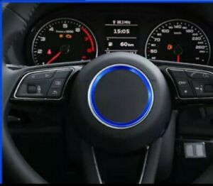 Audi Blue Steering Wheel Cover Ring Car Sticker Fits Audi  TT Mk2 /8J  A3/8P