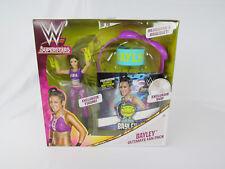 WWE Superstars Bayley Ultimate Fan Pack Exclusive Figure DVD Set Wrestling New