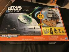 Star Wars Rogue One Micromachines Death Star Playset New!!!