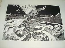 Figürliche Original-Lithographien (1950-1999) aus Europa mit Zoologie-Motiv