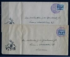 Netherlands 2x Expo cover sept 8, 1939