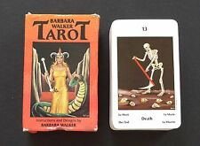 Vintage Barbara Walker Tarot Cards Deck 1986