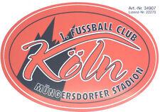 1. FC Köln Aufkleber Müngersdorfer Stadion Sticker Bundesliga Fussball #401