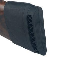 Black Slip on Rubber Recoil Pad Hunting Rifle Shotgun Butt Protector Rubber
