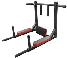 Pull Up Bar Dip Bar 2in1 Wall Mounted Home Gym Cross Fit Multi Grip Steel