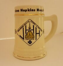 Vintage JHH Johns Hopkins Hospital School of Nursing 1969 Mug Stein 1969 RARE