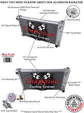 "3 Row SR Radiator 28"" Core,16"" Fan for 1967,1969 - 1972 Chevy C/K Series V8 Eng"