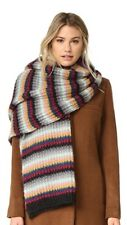 NWT Authentic TAK.ORI MOHAIR MERINO WOOL Knitted OVERSIZED Long Scarf