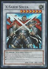 3x Yugioh CT09-EN017 X-Saber Souza Super Rare Card