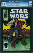 Star Wars #91 CGC 9.8 Marvel 1985 Han Solo! White Pages! G11 915 1 cm