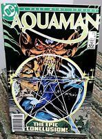 DC Aquaman Mini Series Comic Issue 4 May 1986