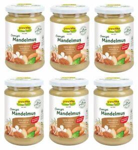 6er Pack Mandelmus - 100 % Mandeln 3000g (23,66€ per Kg)