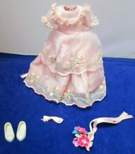 "1964 VTG.""PENNY BRITE""~*FLOWER GIRL*~#1511~ RARE 5 PC.OUTFIT~COMPLETE+MINT~CRISP"