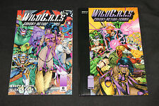 1994 Wildcats Compendium Numbered and Signed by Brandon Choi VF-NM