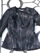 BNWT WILLOW Curved Zip Jacket Size 6 RRP$795