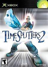 TimeSplitters 2 Time Splitters NEW factory sealed Original Xbox
