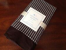 Pottery Barn Kids Sock Monkey Crib / Toddler Bed Skirt 100% Cotton Nwt