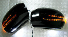 Mercedes W164 05~08 ML-Class BLACK Arrow Type LED Side Mirror Cover ML320 ML500