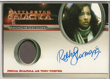 Battlestar Galactica Season 4 Costume Autograph Rekha Sharma Tory Foster