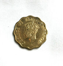 1 Anna coin from India - 1945