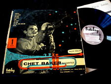 CHET BAKER QUARTET/1/RARE JAZZ/BARCLAY 84009/FRENCH PRESS