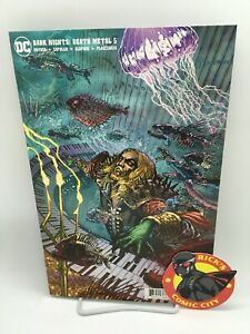 DARK NIGHTS DEATH METAL #5 DOUG MAHNKE BAND VARIANT DC Comics 2020 Aquaman