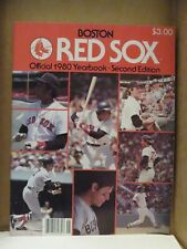 BOSTON RED SOX 1980 OFFICIAL YEARBOOK
