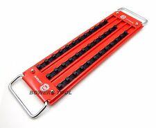 """Mechanics Time Saver 3 Row 36 Post 3/8"""" Drive Lock-A-Socket Tray LASTRAY38"""