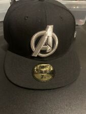 NEW ERA AVENGERS Basic Hat 59FIFTY FITTED CAP Limited Edition Size 7 7/8