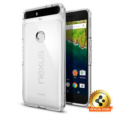 Google Nexus 6P Case Spigen® [Ultra Hybrid] Shockproof Case Clear Back TPU Cover