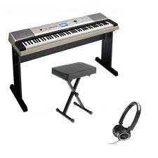 Yamaha YPG535 Portable 88 Key Grand Piano Bundle with Bench, Stand, & Headphones