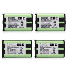 4pcs 1000mAh Cordless Home Phone Battery For Panasonic HHR-P104 HHRP104 KX-TG