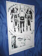 NEW LISTINGGREEN LANTERN #34 Original Art Page #20 ~Billy Tan/Rob Hunter JLA/Movie NEW GODS Comic Art